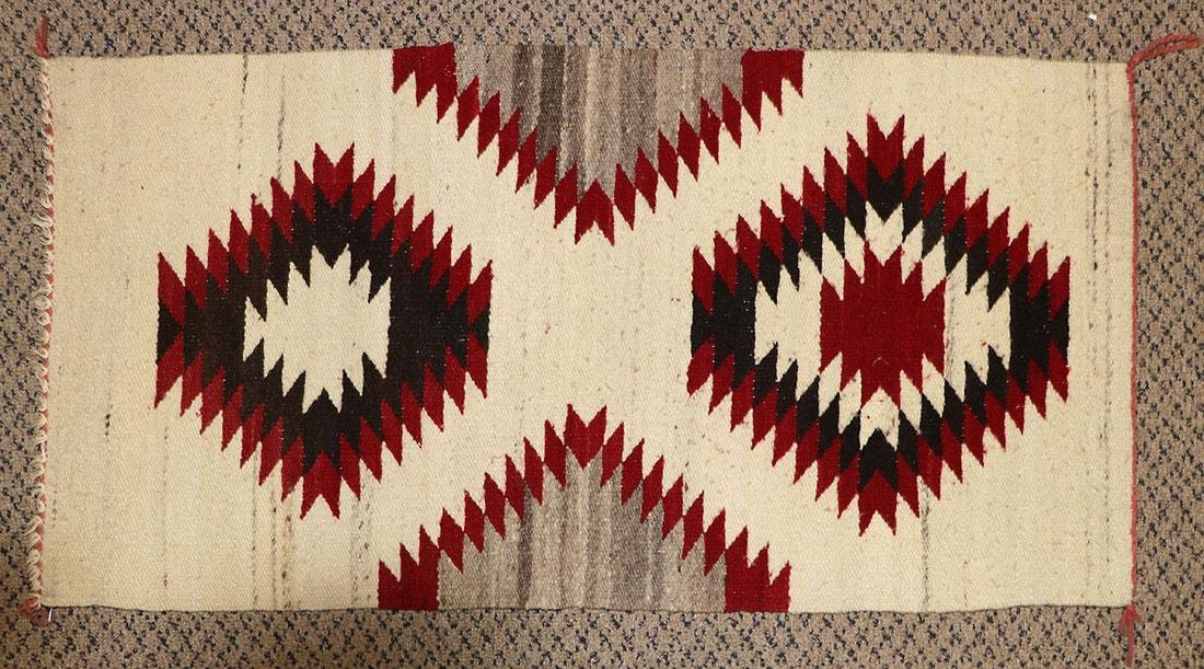 A GROUP OF EIGHT NAVAJO RUGS, 1960'S AND LATER - 10
