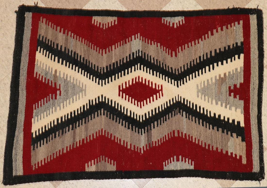 A GROUP OF EIGHT NAVAJO RUGS, 1960'S AND LATER - 6