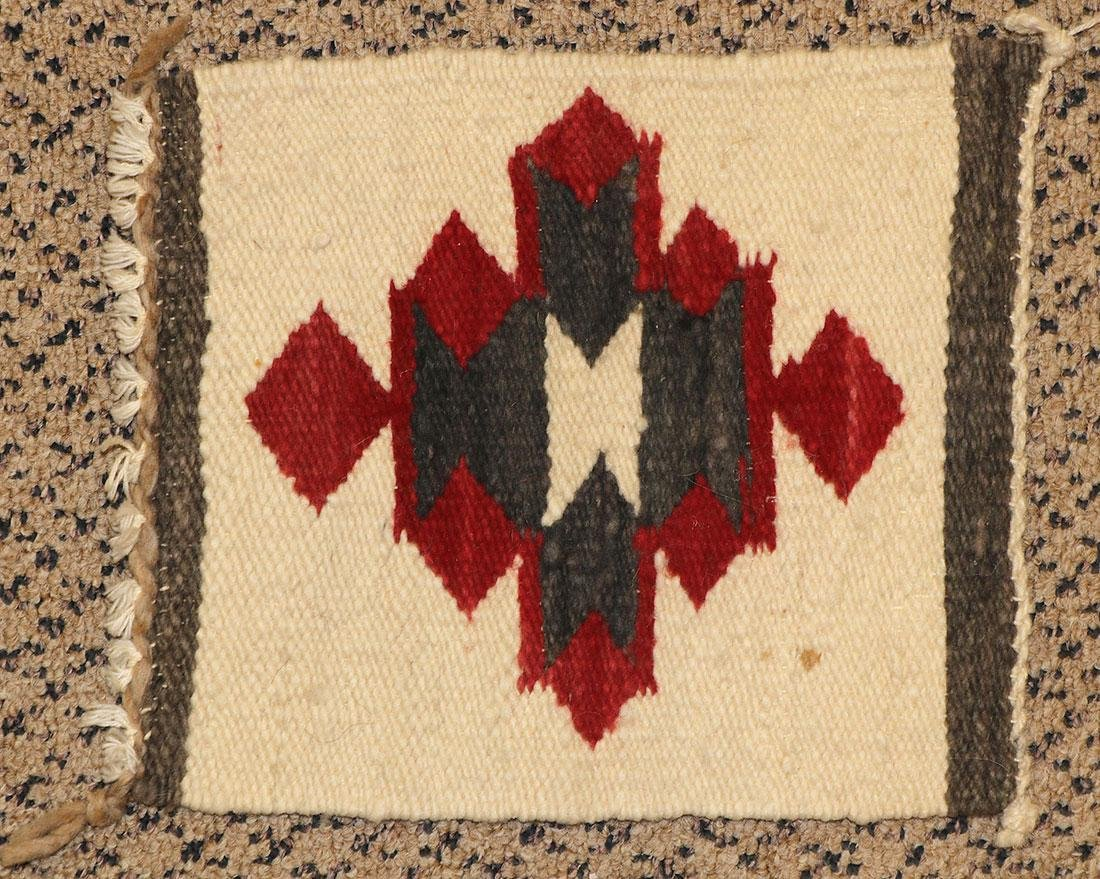 A GROUP OF EIGHT NAVAJO RUGS, 1960'S AND LATER - 7