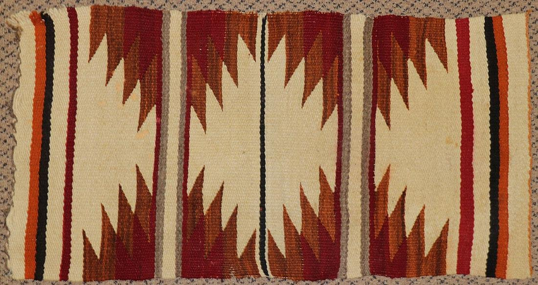 A GROUP OF EIGHT NAVAJO RUGS, 1960'S AND LATER - 8