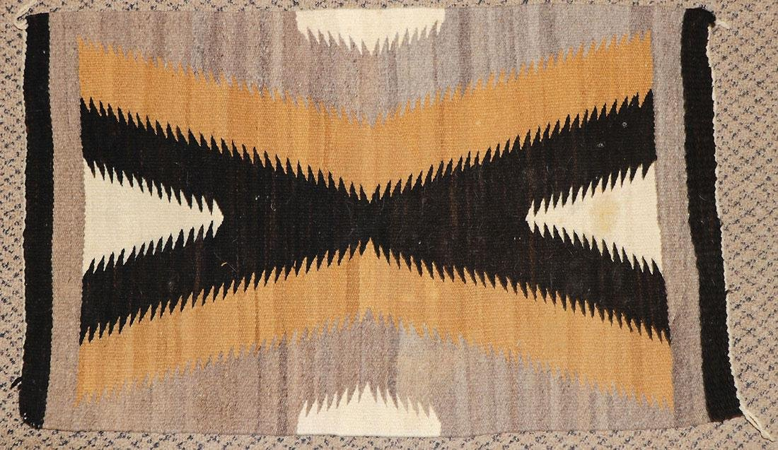 A GROUP OF EIGHT NAVAJO RUGS, 1960'S AND LATER - 9