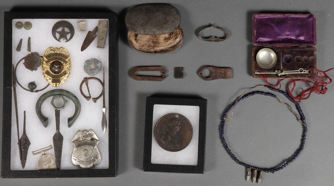 OVER TWO DOZEN HISTORICAL OBJECTS