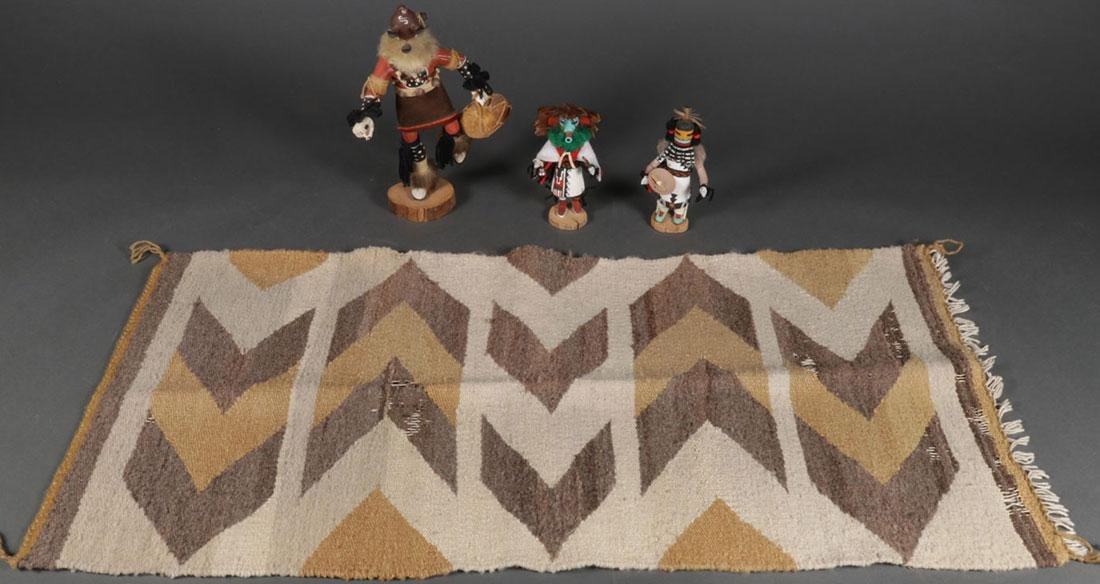 A GROUP OF NATIVE AMERICAN RELATED OBJECTS - 2