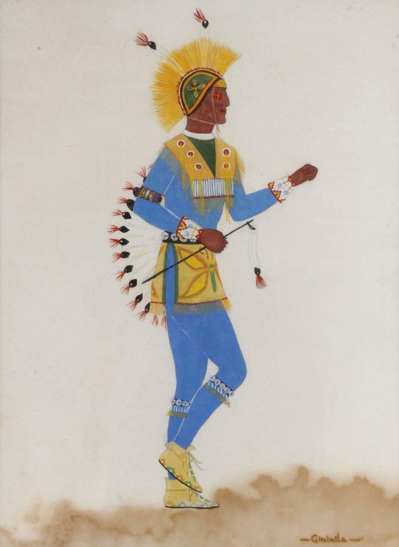 TEN FRAMED INDIAN ARTWORKS, 20TH CENTURY - 3