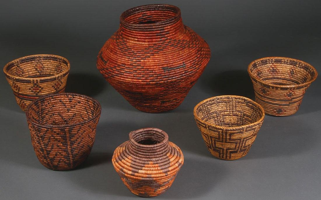 A GROUP SIX BASKETS