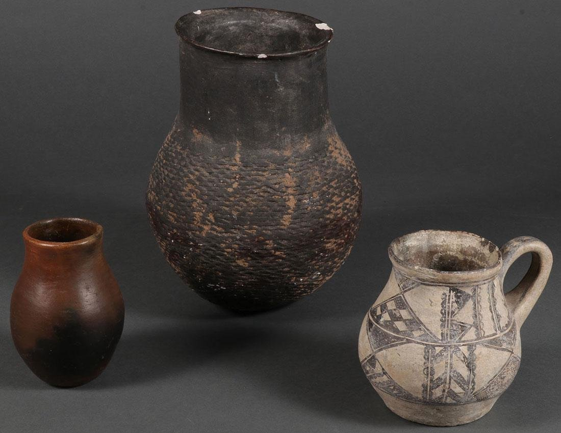 TWO SOUTHWEST ANCIENT OR ANCIENT STYLE VESSELS