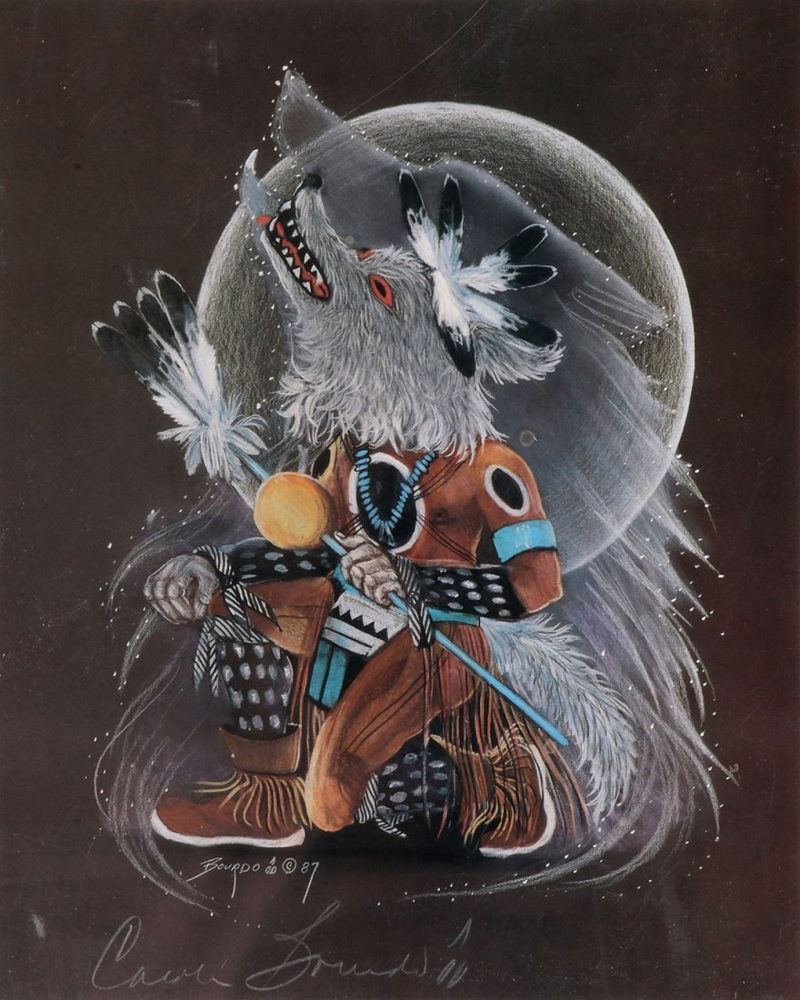 5 NATIVE AMERICAN OR NATIVE AMERICAN STYLE ITEMS - 4