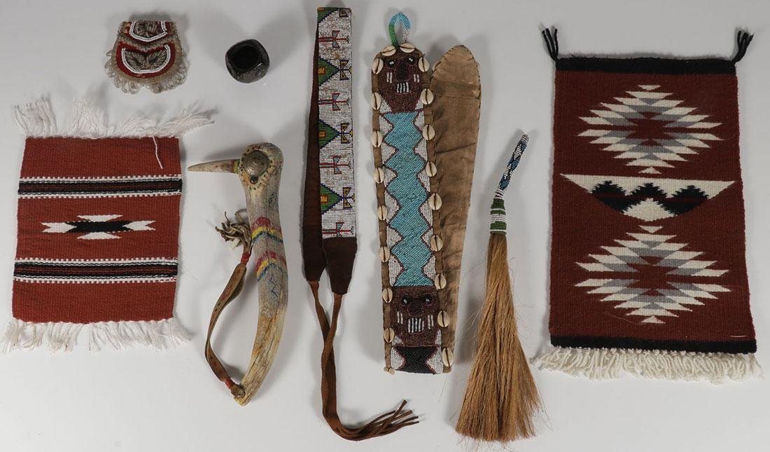 20 NATIVE AMERICAN OR NATIVE AMERICAN STYLE ITEMS - 3