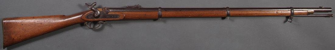 A BRITISH PERCUSSION 1862 TOWER MUSKET