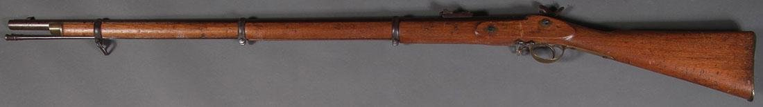 A BRITISH PERCUSSION 1862 TOWER MUSKET - 2