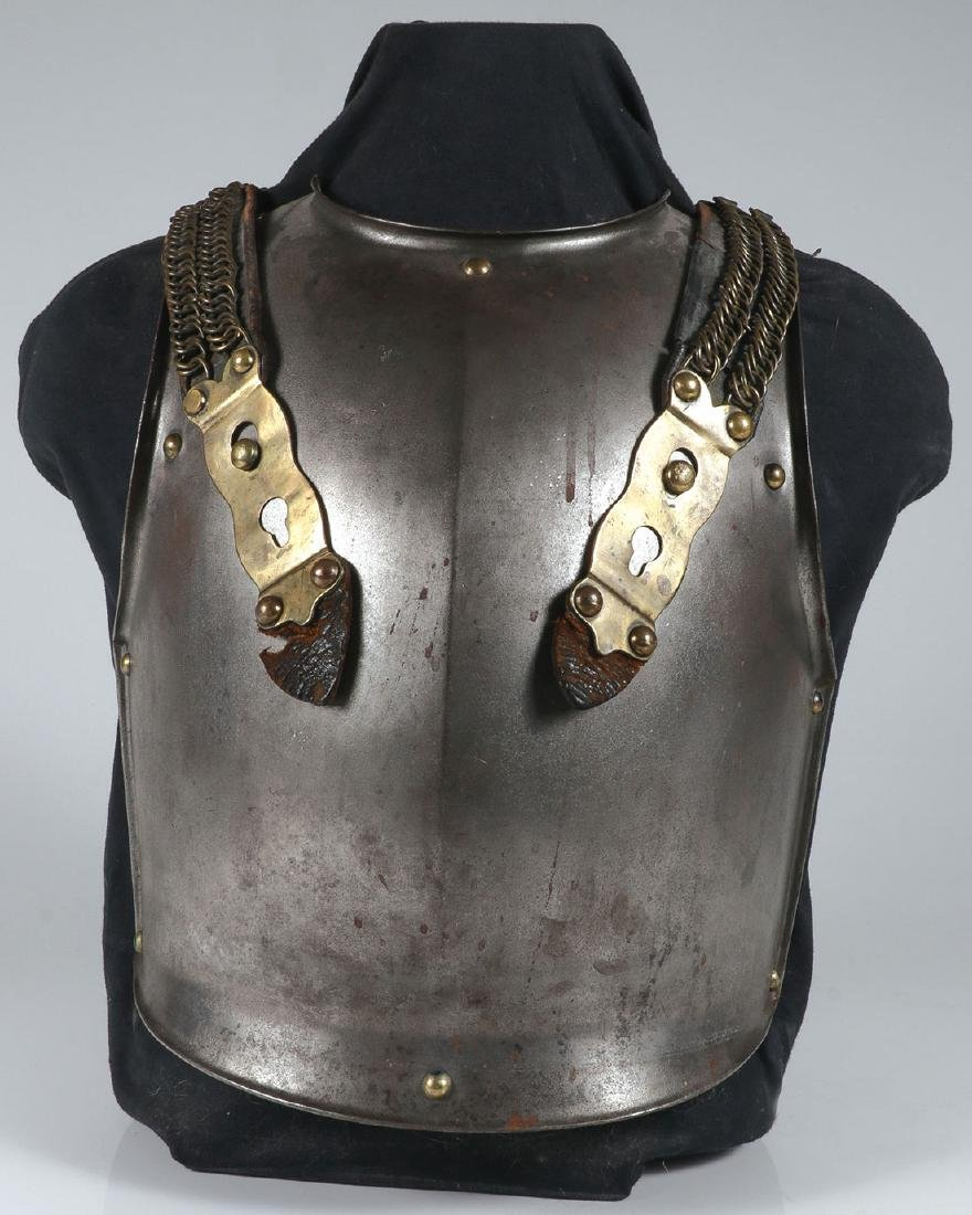 A FRENCH STYLE MODEL 1825 CUIRASS