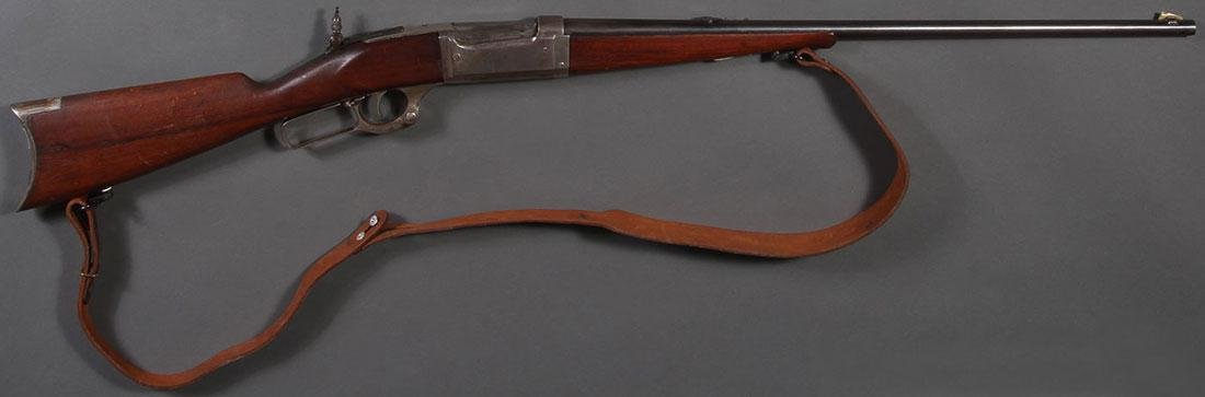 A SAVAGE MODEL 1899 LEVER ACTION RIFLE