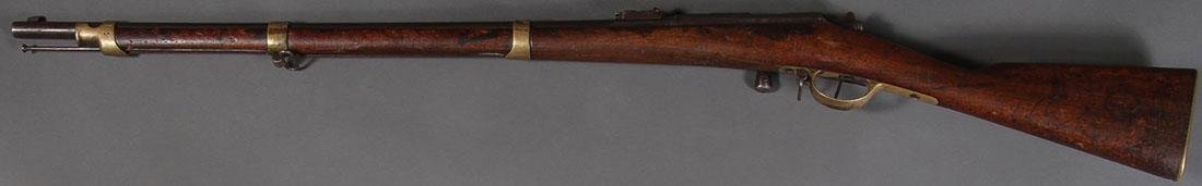 A FRENCH MLE 1966-74 BOLT ACTION RIFLE MODEL 80 - 2