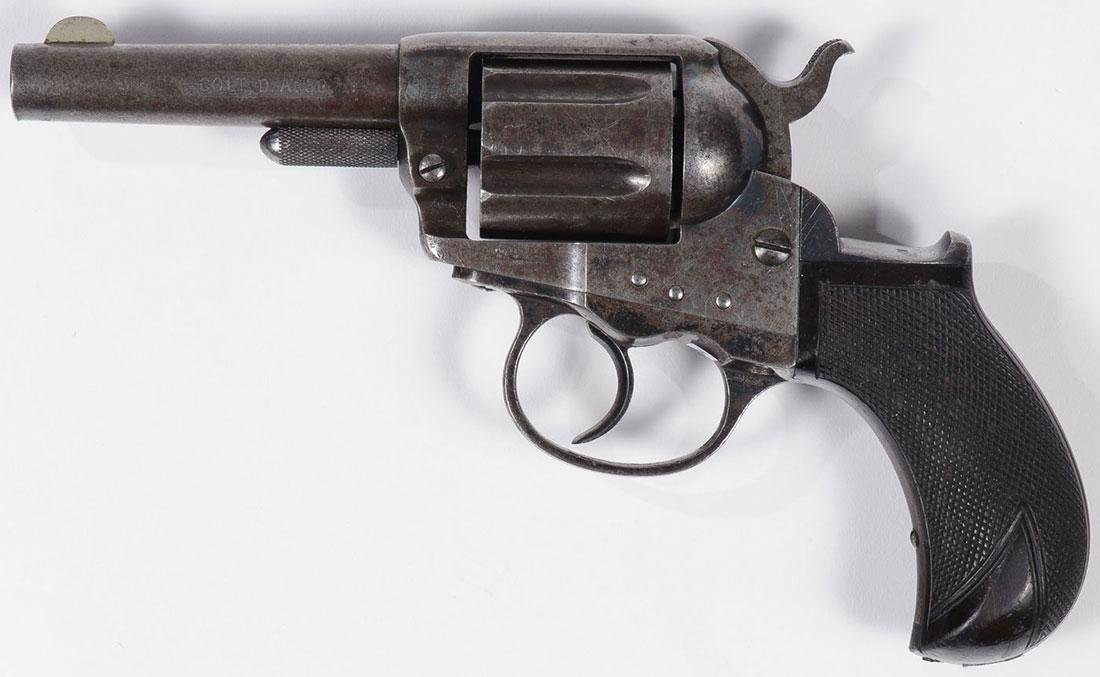 A COLT MODEL 1877 LIGHTING DA REVOLVER