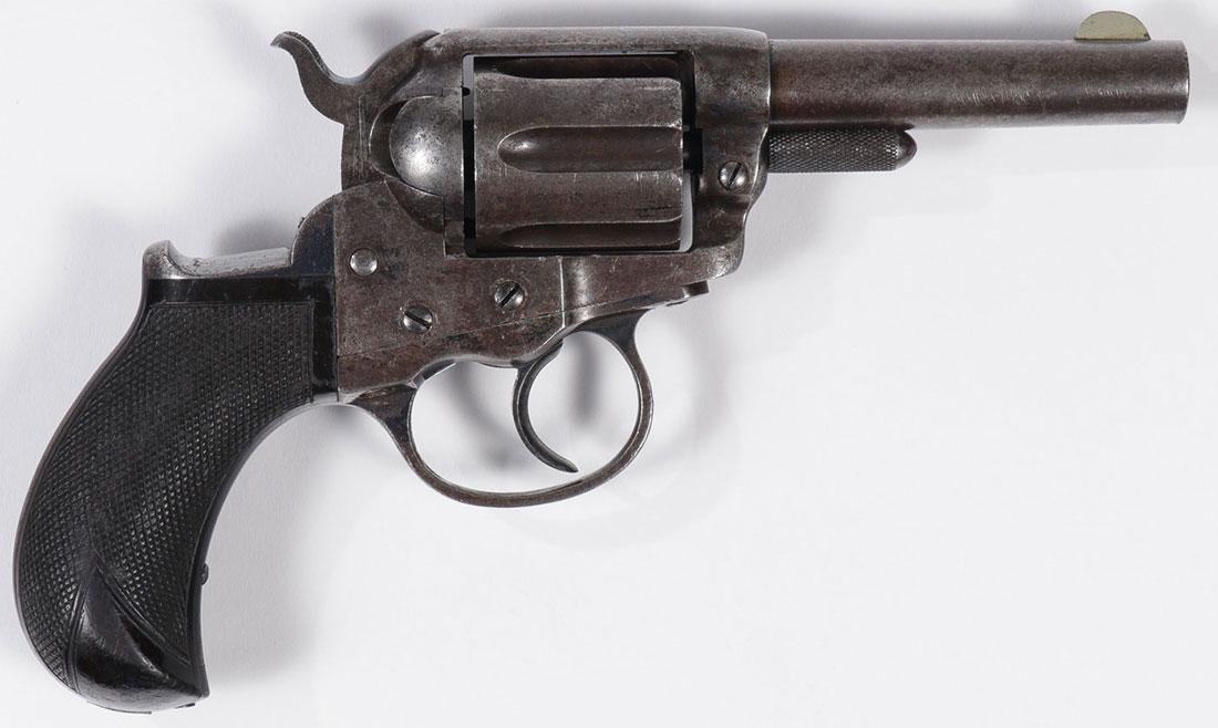 A COLT MODEL 1877 LIGHTING DA REVOLVER - 2
