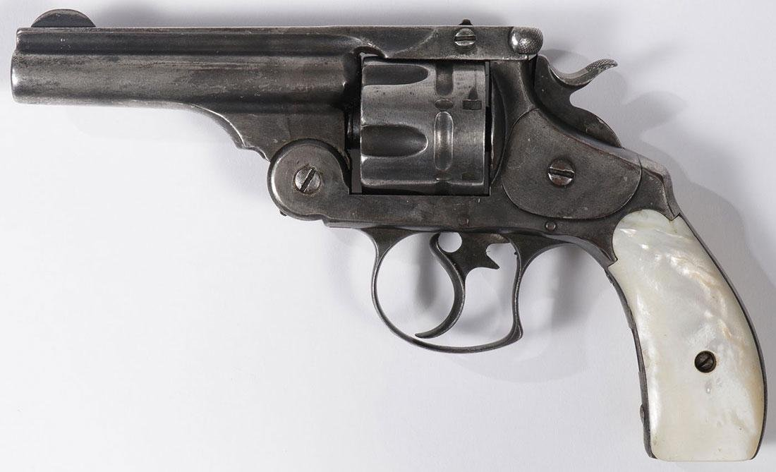 A SMITH & WESSON 44 DOUBLE ACTION REVOLVER - 2
