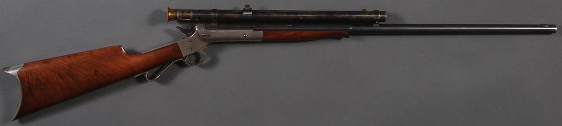 A STEVENS MODEL 12 TIP-UP RIFLE - 2