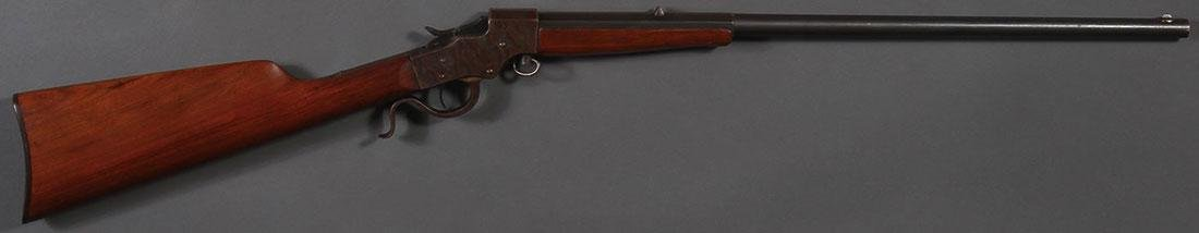 A STEVENS FAVORITE SINGLE SHOT 22 LONG RIFLE - 2