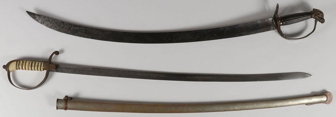 A PAIR OF SWORDS, 19TH CENTURY
