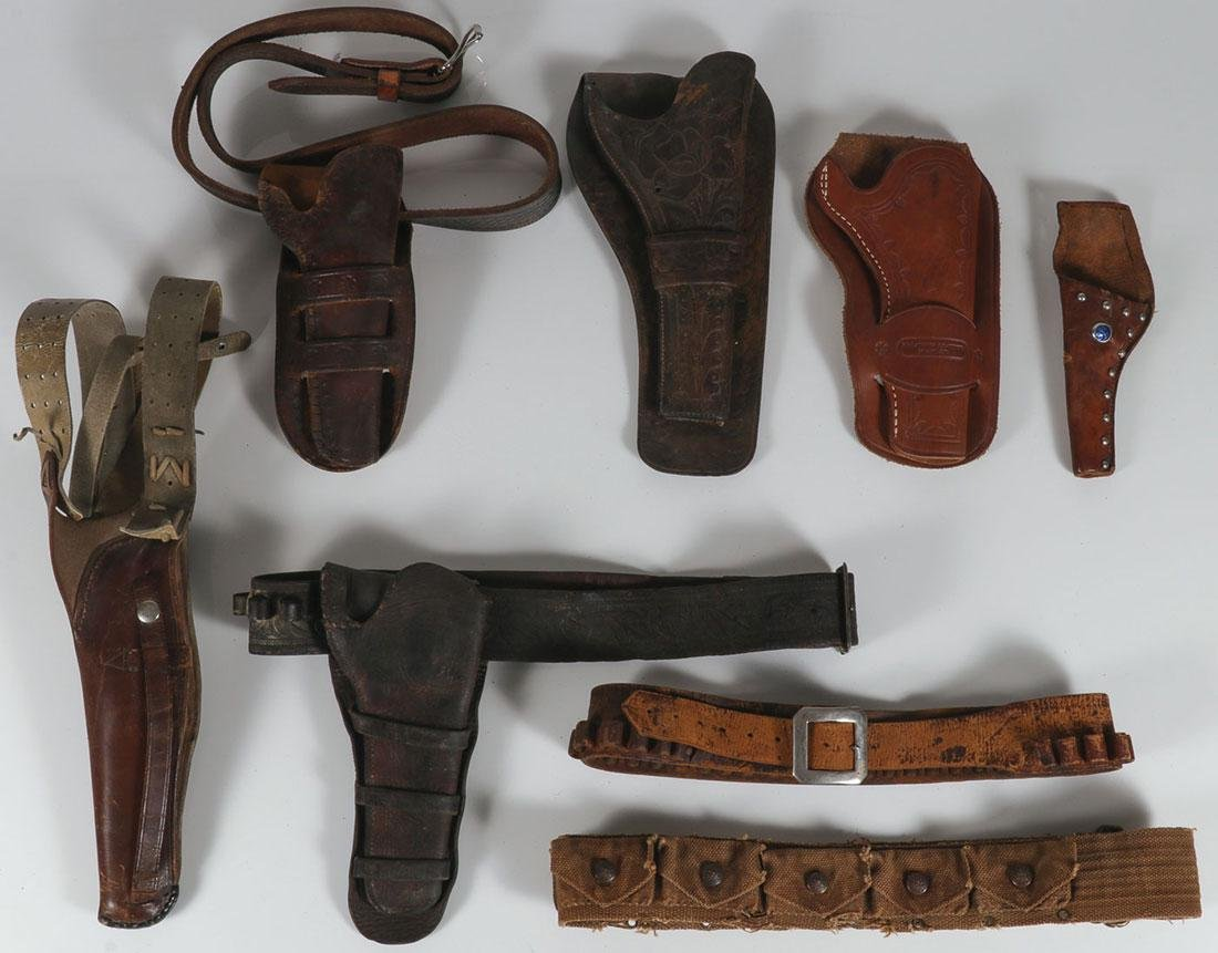 COWBOY HOLSTERS AND BELTS