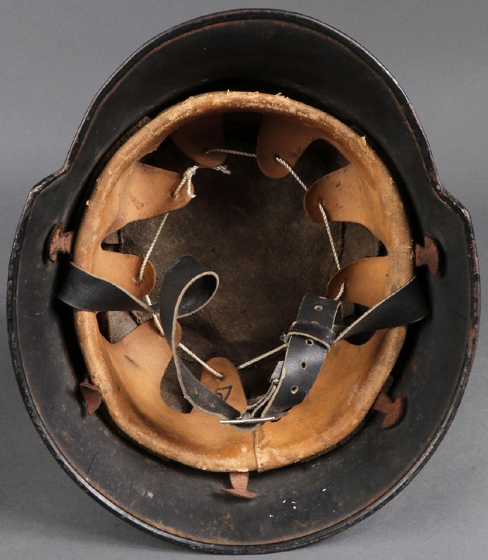 TWO GERMAN WWII HELMETS - 6