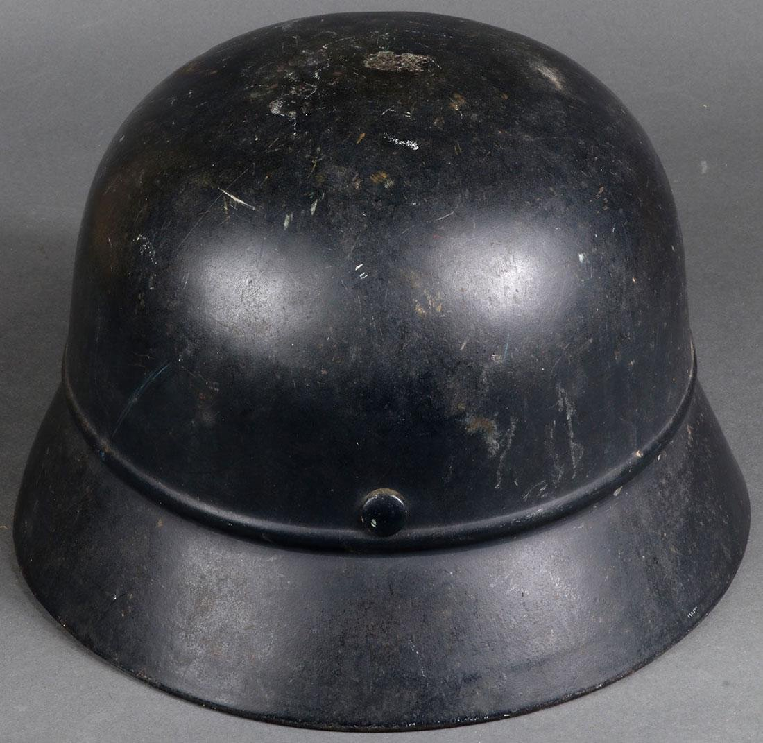 TWO GERMAN WWII HELMETS - 8