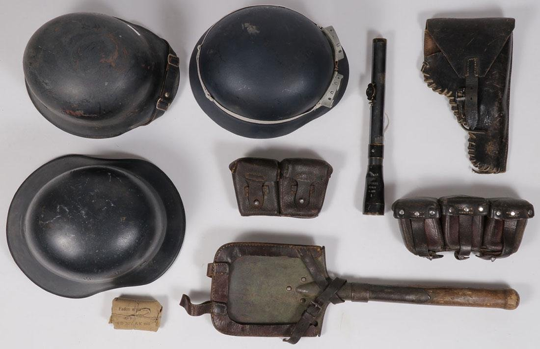 EIGHT GERMAN WWII ITEMS