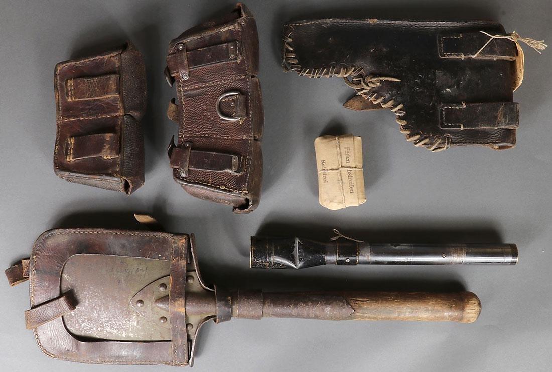EIGHT GERMAN WWII ITEMS - 7