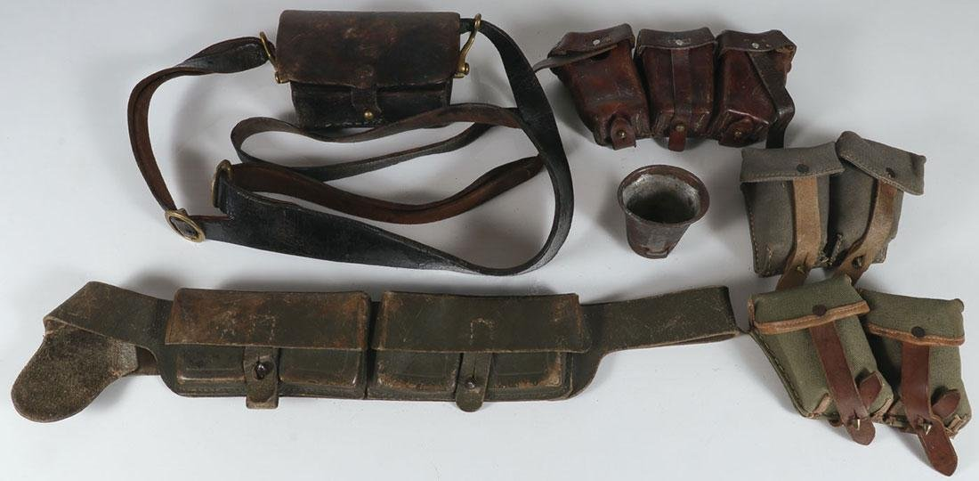 THIRTY MILITARY OR FIREARM RELATED ITEMS - 2
