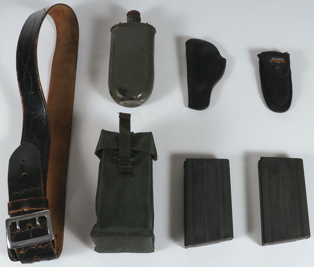 THIRTY MILITARY OR FIREARM RELATED ITEMS - 5