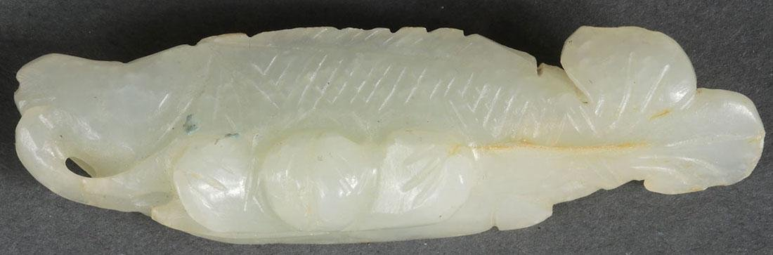 10 CHINESE CARVED JADE PENDANTS, QING DYNASTY - 5