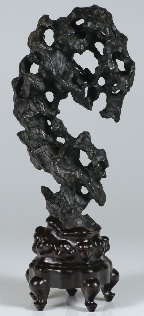 A CHINESE SCHOLAR STYLE ROCK FORM