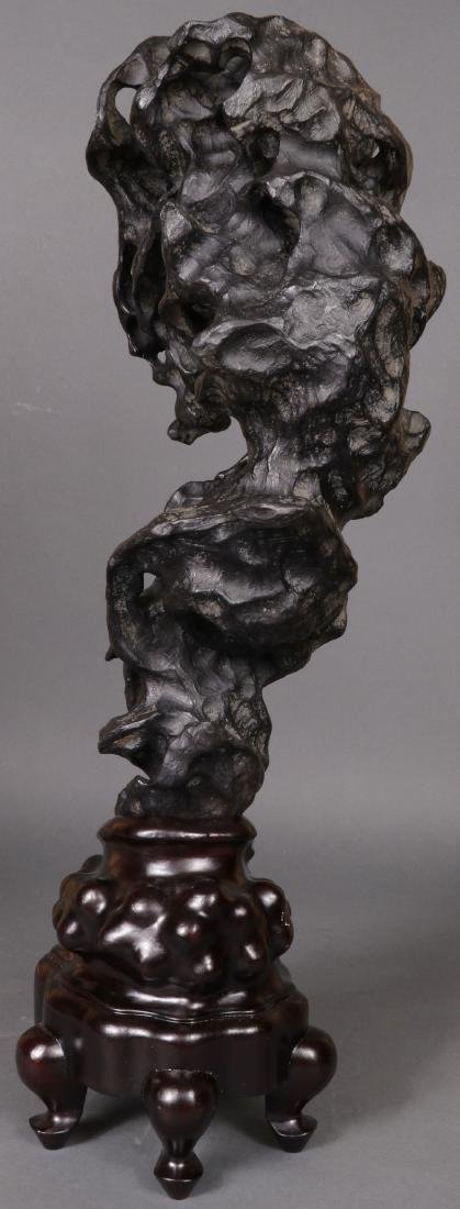 A CHINESE SCHOLAR STYLE ROCK FORM - 6