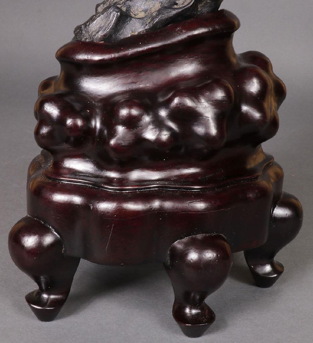 A CHINESE SCHOLAR STYLE ROCK FORM - 8