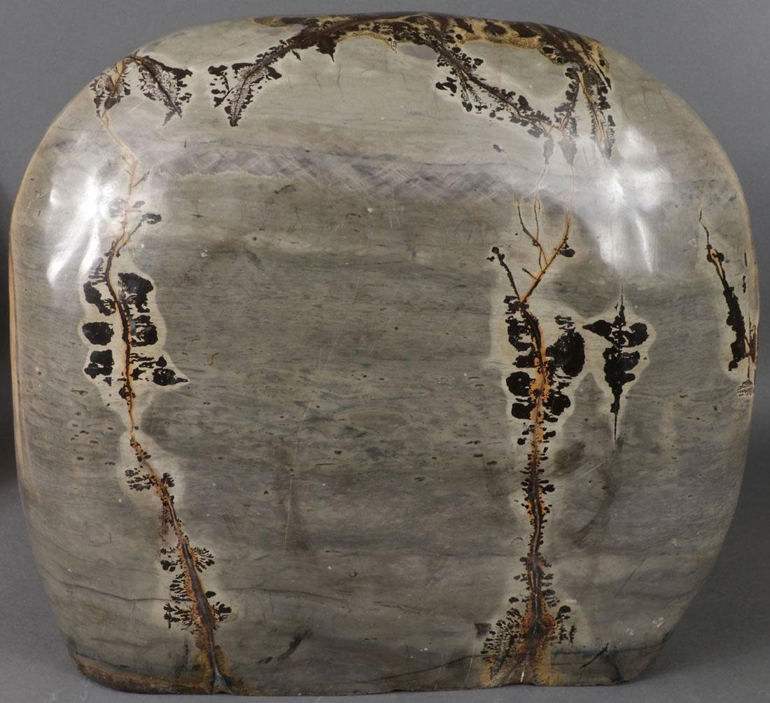 AN ATTRACTIVE POLISHED CHINESE SCHOLAR  ROCK - 4