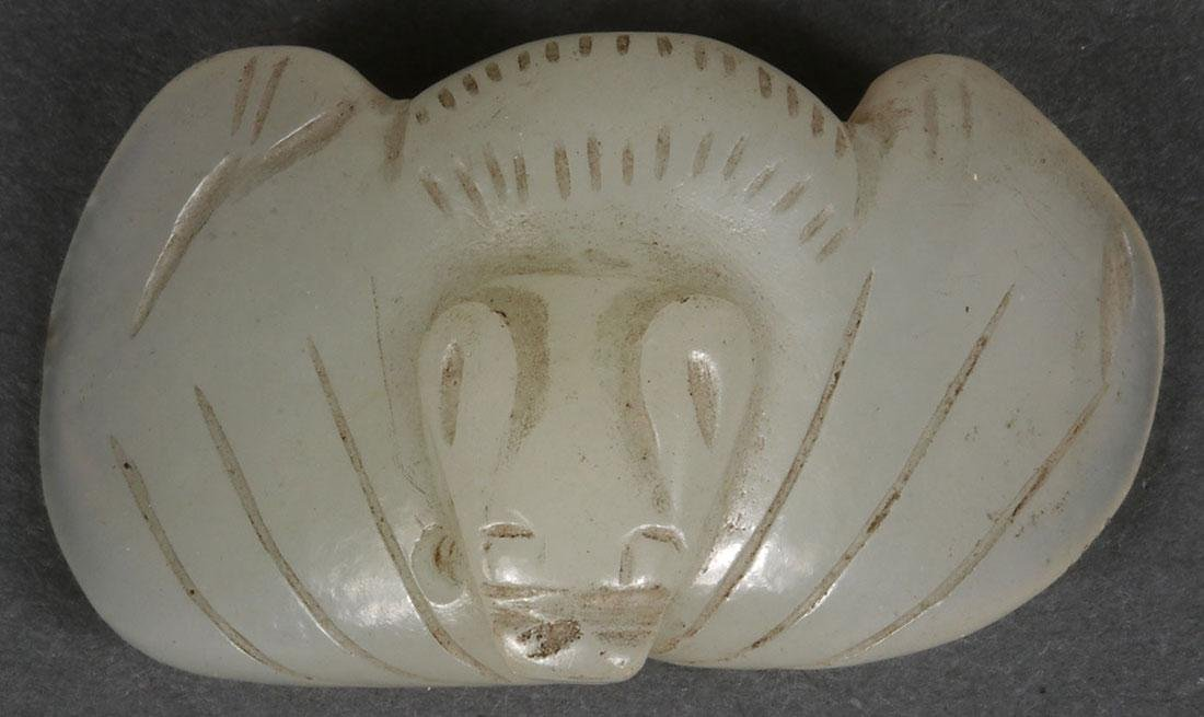 THIRTY CHINESE CARVED JADE PENDANTS AND ORNAMENTS - 6