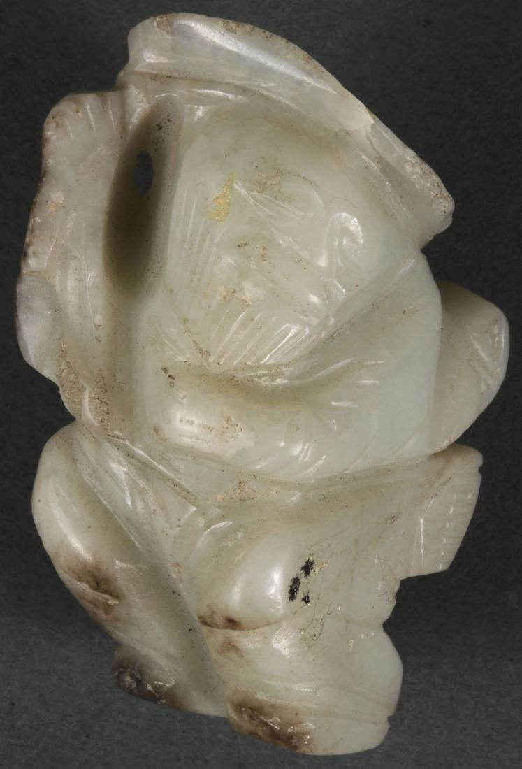 THIRTY-TWO CHINESE CARVED JADE PENDANTS - 3