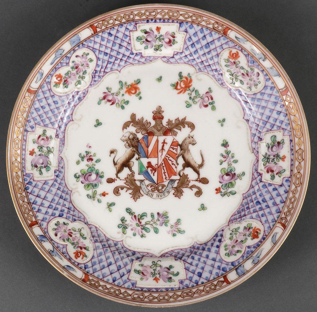 SIX CHINESE PORCELAIN DECORATED ITEMS - 2