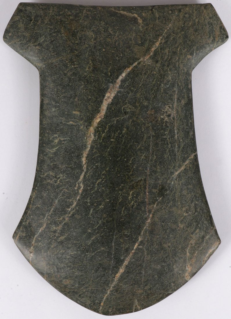 PRE-COLOMBIAN  CEREMONIAL POLISHED AX & CELT - 3