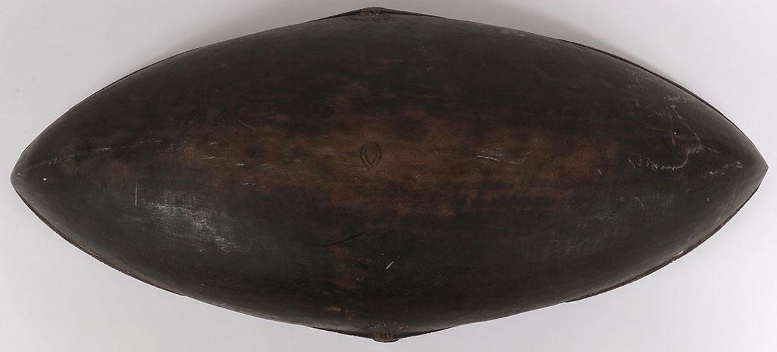 A PAIR OF CARVED WOOD TAMI ISLAND FEAST BOWLS - 4