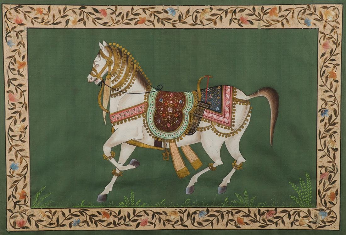 A PAIR OF INDO-PERSIAN PAINTINGS