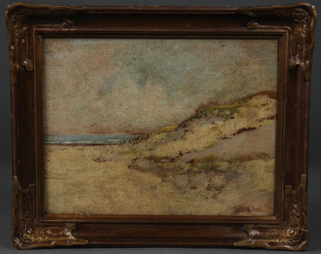 A PAIR OF AMERICAN SEASCAPE PAINTINGS, CIRCA 1900 - 3