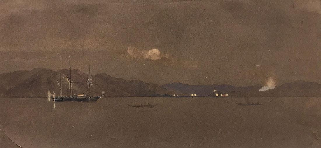 THREE WORKS ON PAPER 19TH AND 20TH CENTURY