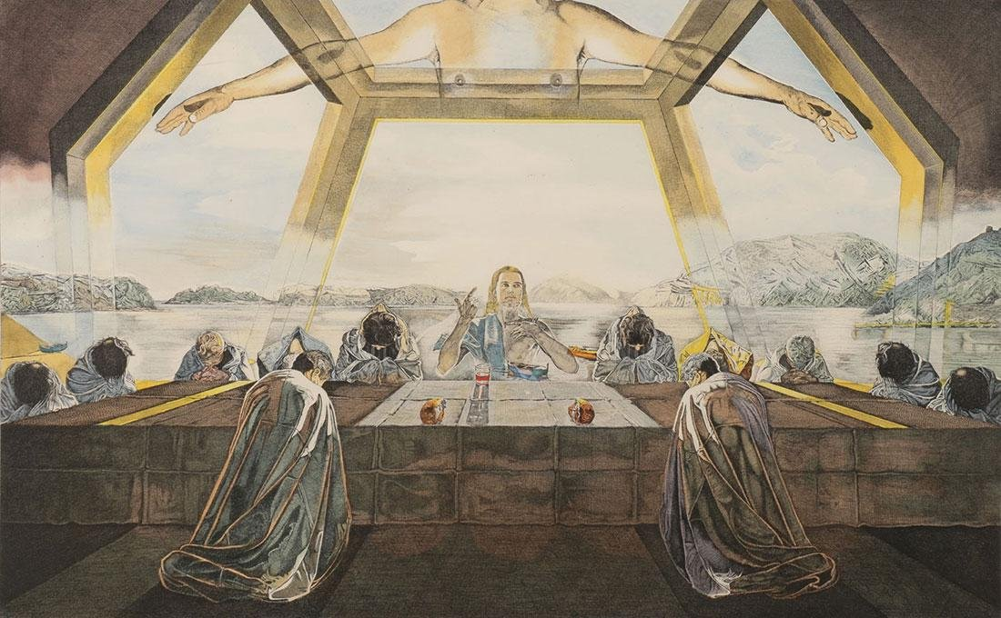SALVADOR DALI (SPANISH 1904 – 1989) LAST SUPPER