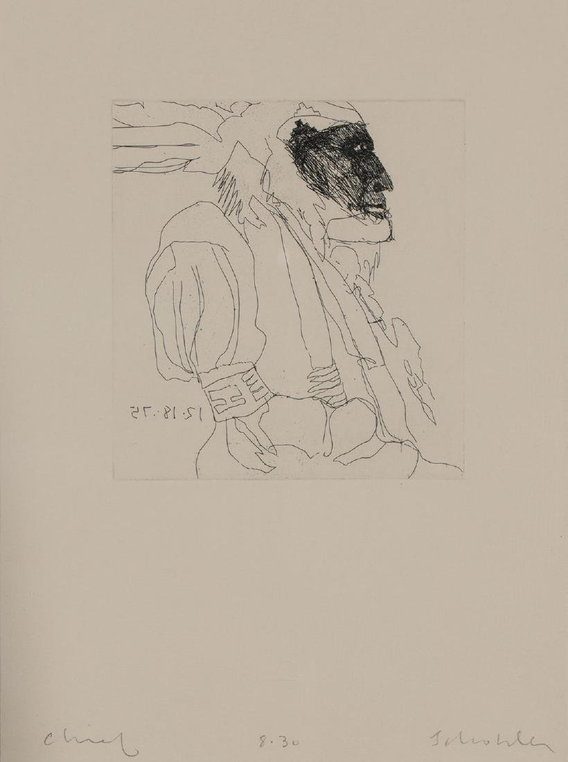 A GROUP OF FOUR WORKS BY FRITZ SCHOLDER, SIGNED - 5
