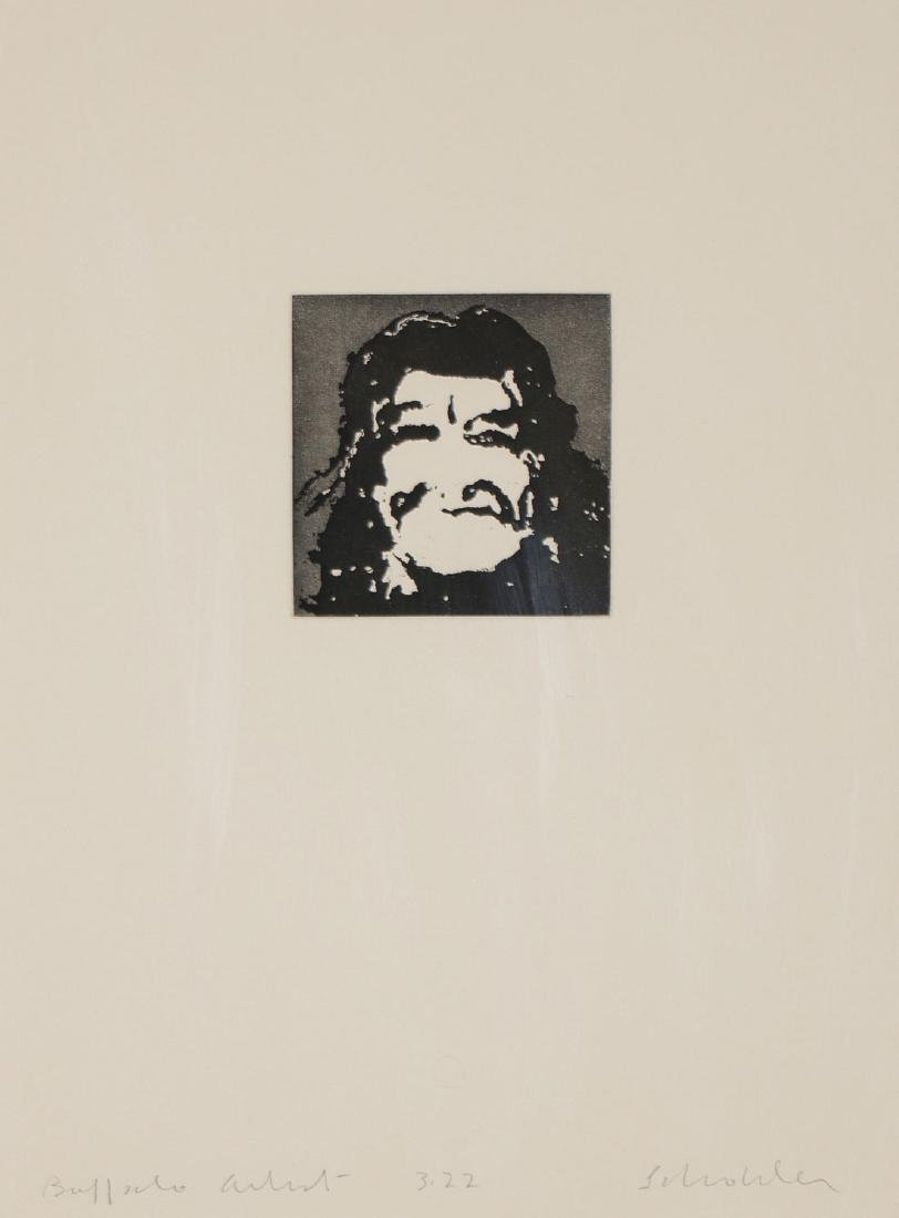 A GROUP OF FOUR WORKS BY FRITZ SCHOLDER, SIGNED - 7