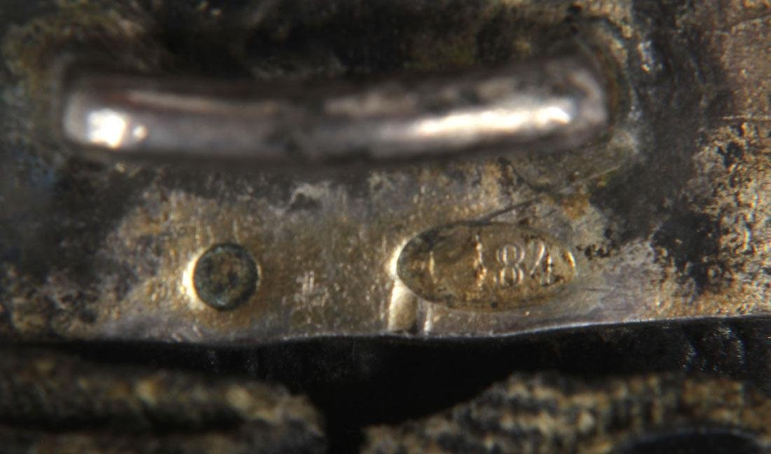 THREE IMPERIAL RUSSIAN PERIOD SILVER BELTS - 9