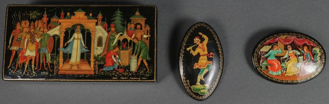 A PAIR OF RUSSIAN ICONS, CIRCA 1890 - 4