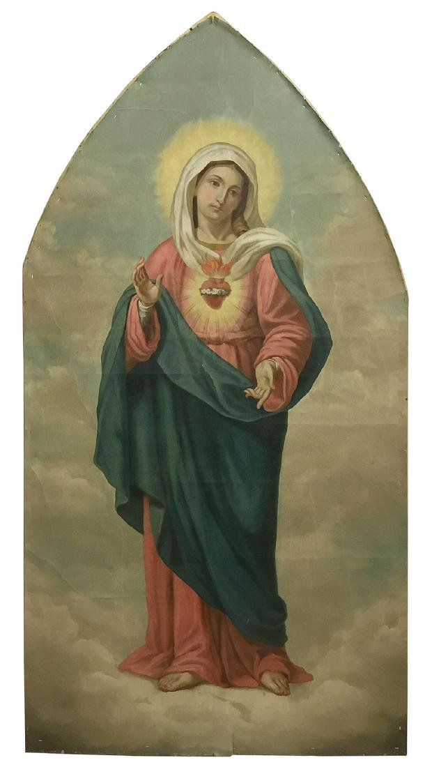 PAINTINGS OF THE IMMACULATE HEART & SACRED HEART