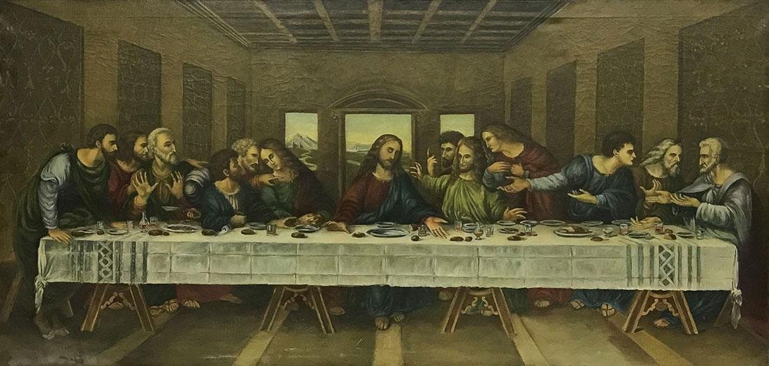 A PAINTING OF THE LAST SUPPER